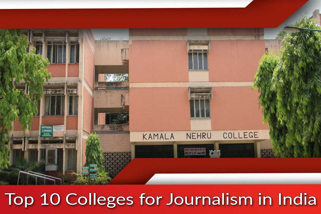 Top 10 Colleges for Journalism in India