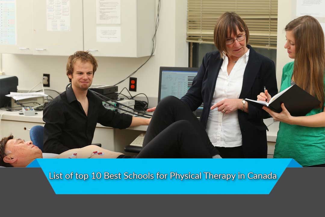 List of top 10 Best Schools for Physical Therapy in Canada