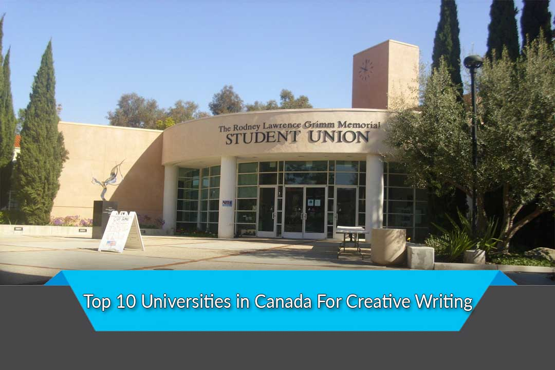 Best university for creative writing canada