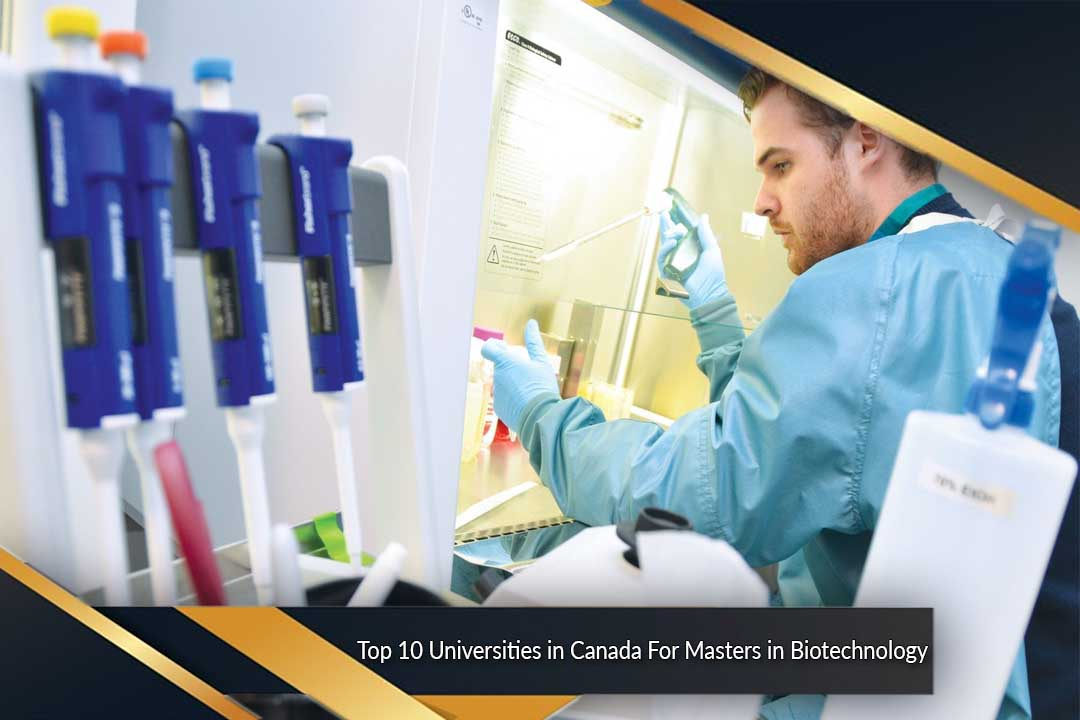 Top 10 Universities in Canada For Masters in Biotechnology