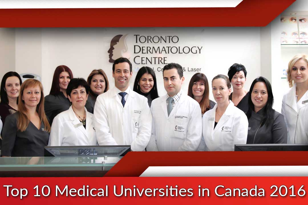 Top 10 Medical Universities in Canada 2016