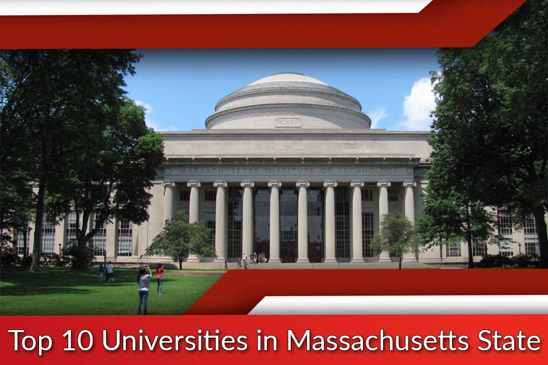 Top 10 Universities in Massachusetts State