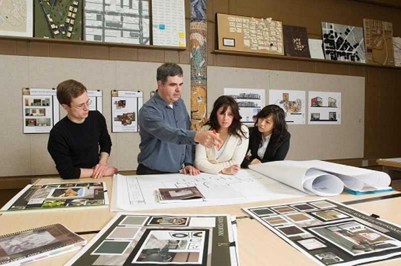 list of top 10 best interior design schools in texas