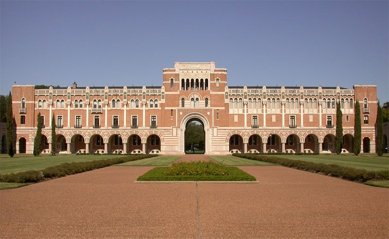 Rice University Main Campus building