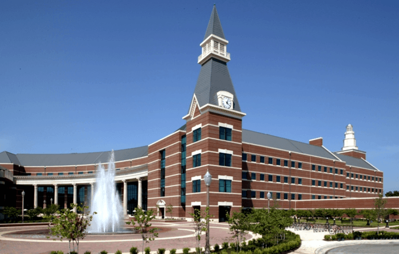 baylor university campus building