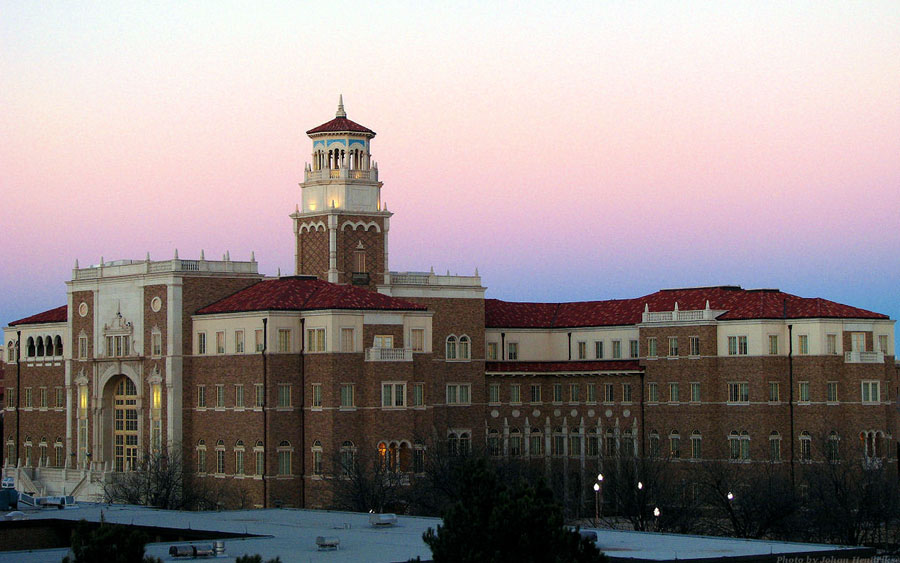 texas tech university main building