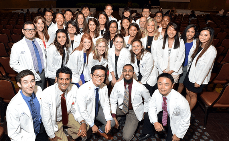 Baylor College of Medicine students