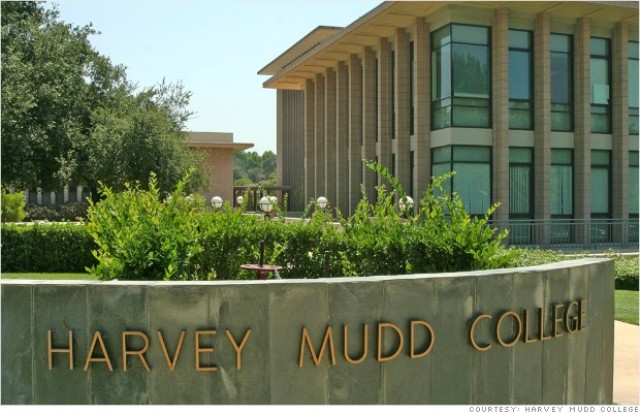 Harvey Mudd College campus building