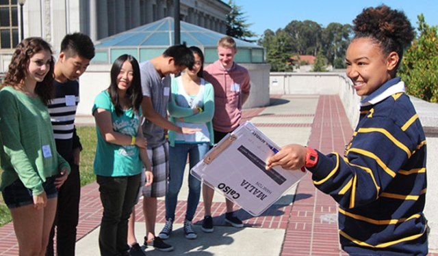 University of California - Berkeley students