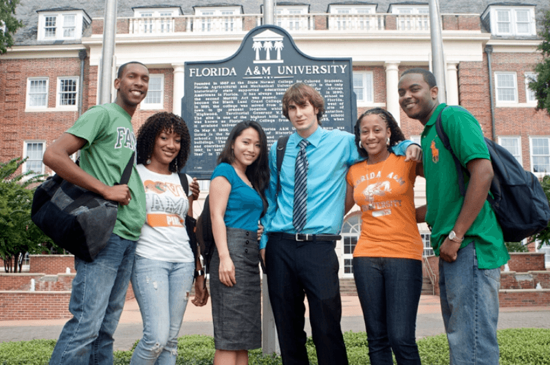 Florida Agricultural and Mechanical University students