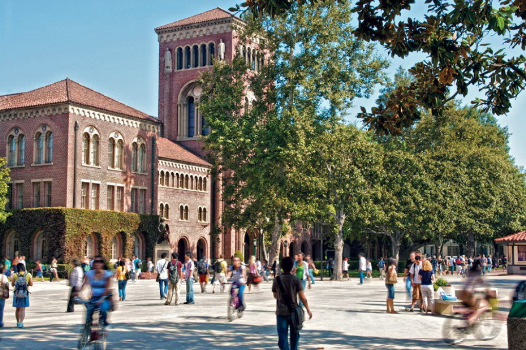University Of Southern California campus life