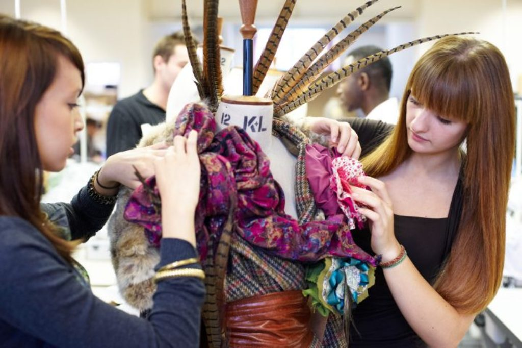 Houston Community College Fashion Design Students