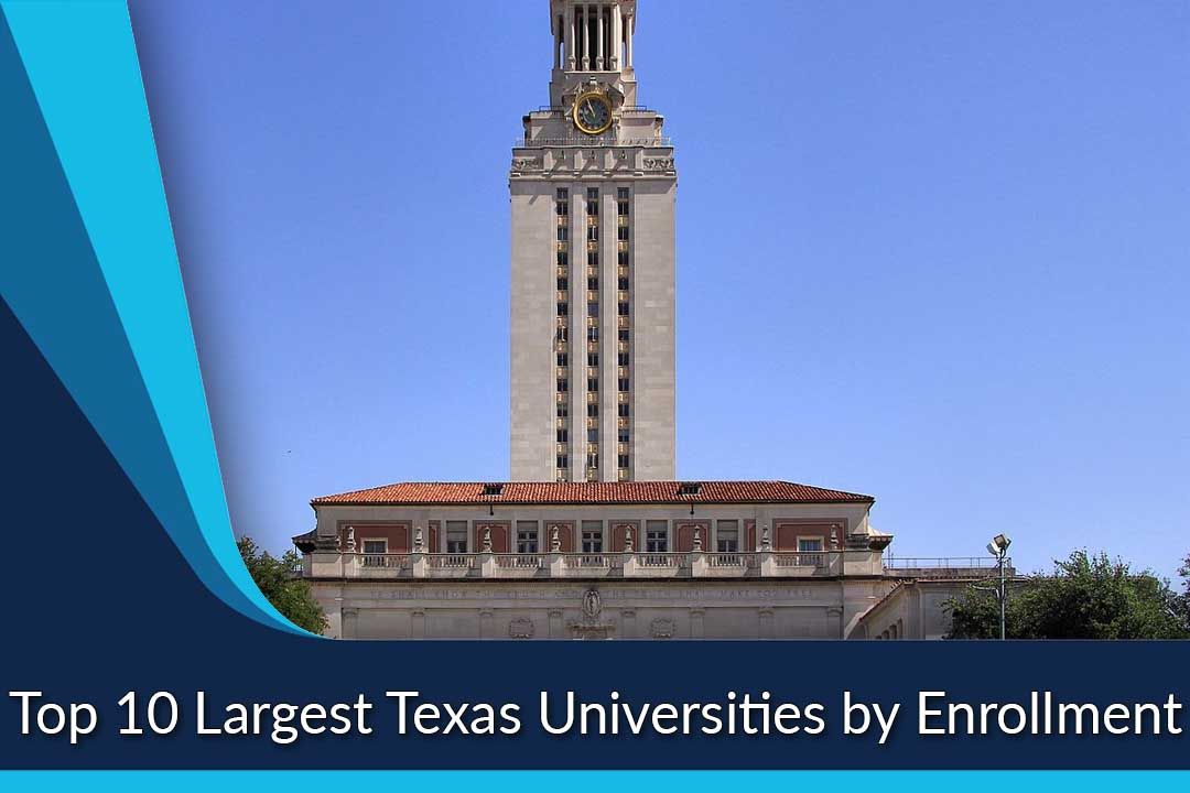 Top 10 Largest Texas Universities by Enrollment