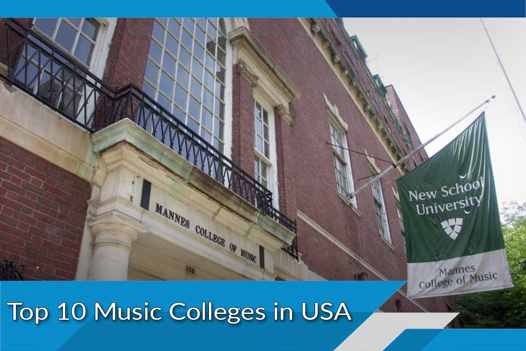 Top 10 Music Colleges in USA