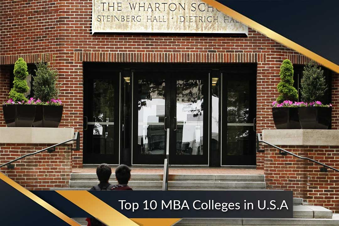 Top 10 MBA Colleges in U.S.A