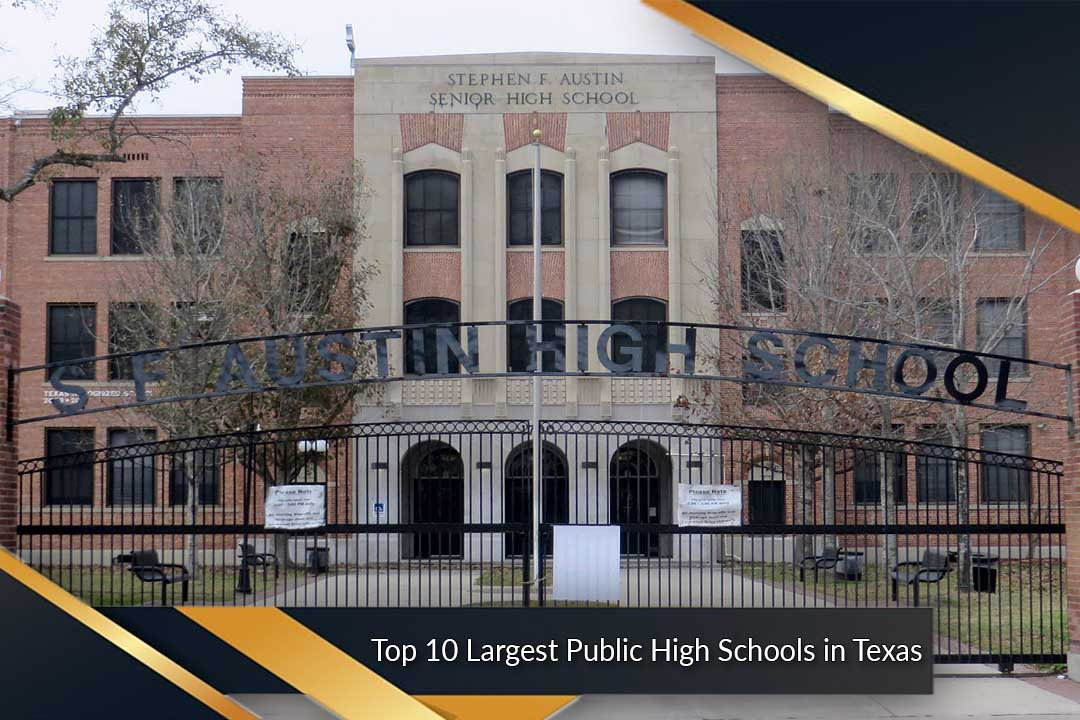 Top 10 Largest Public High Schools in Texas