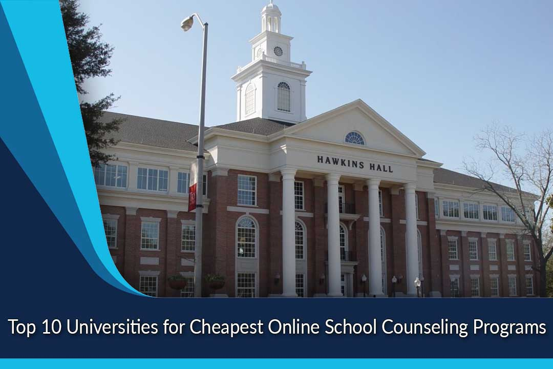 Top 10 Universities for Cheapest Online School Counseling Programs