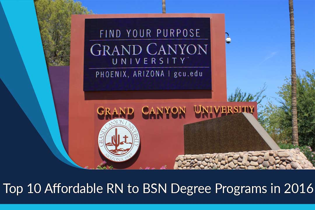 Top 10 Affordable RN to BSN Degree Programs in 2016
