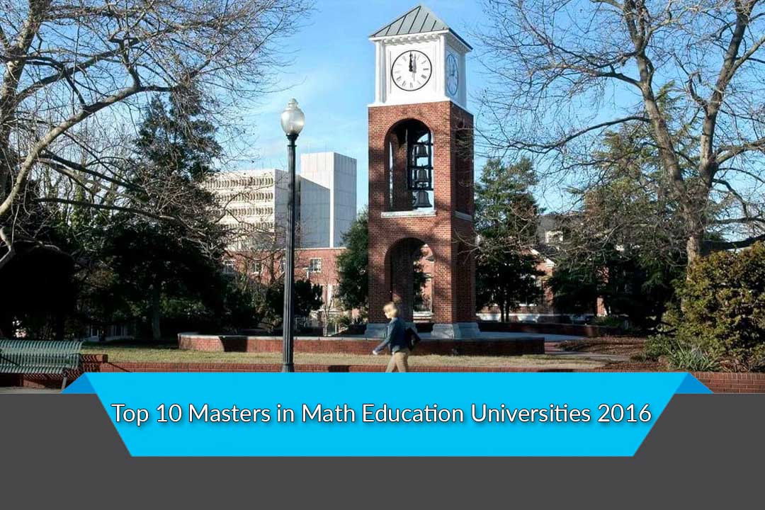 Top 10 Masters in Math Education Universities 2016