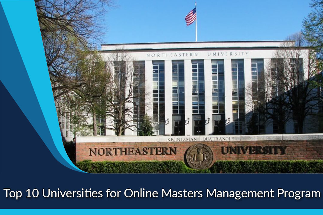 Top 10 Universities for Online Masters Management Program