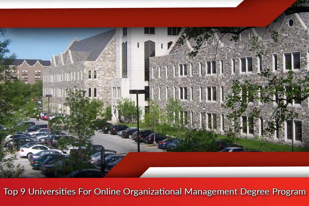 Top 9 Universities For Online Organizational Management Degree Program