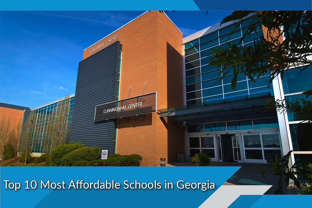 Top 10 Most Affordable Schools in Georgia