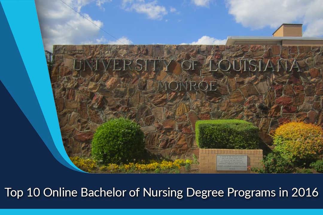 Top 10 Online Bachelor of Nursing Degree Programs in 2016