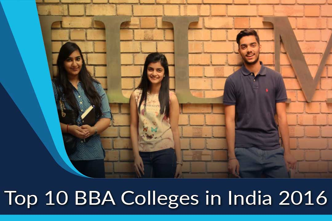 Top 10 BBA Colleges in India 2016