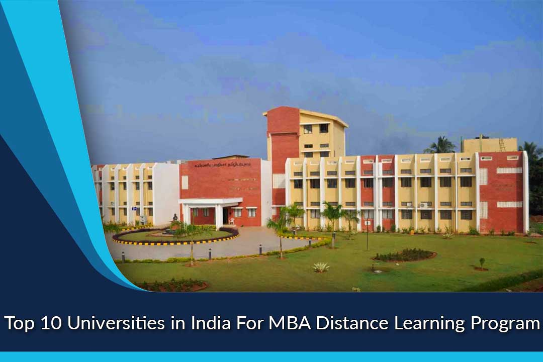 Top 10 Universities in India For MBA Distance Learning Program