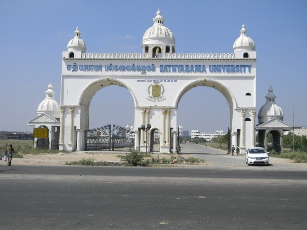 Sathyabama University, Chennai