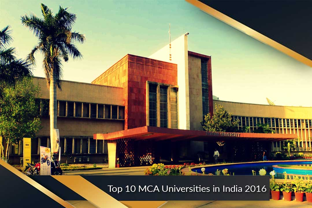 Top 10 MCA Universities in India 2016