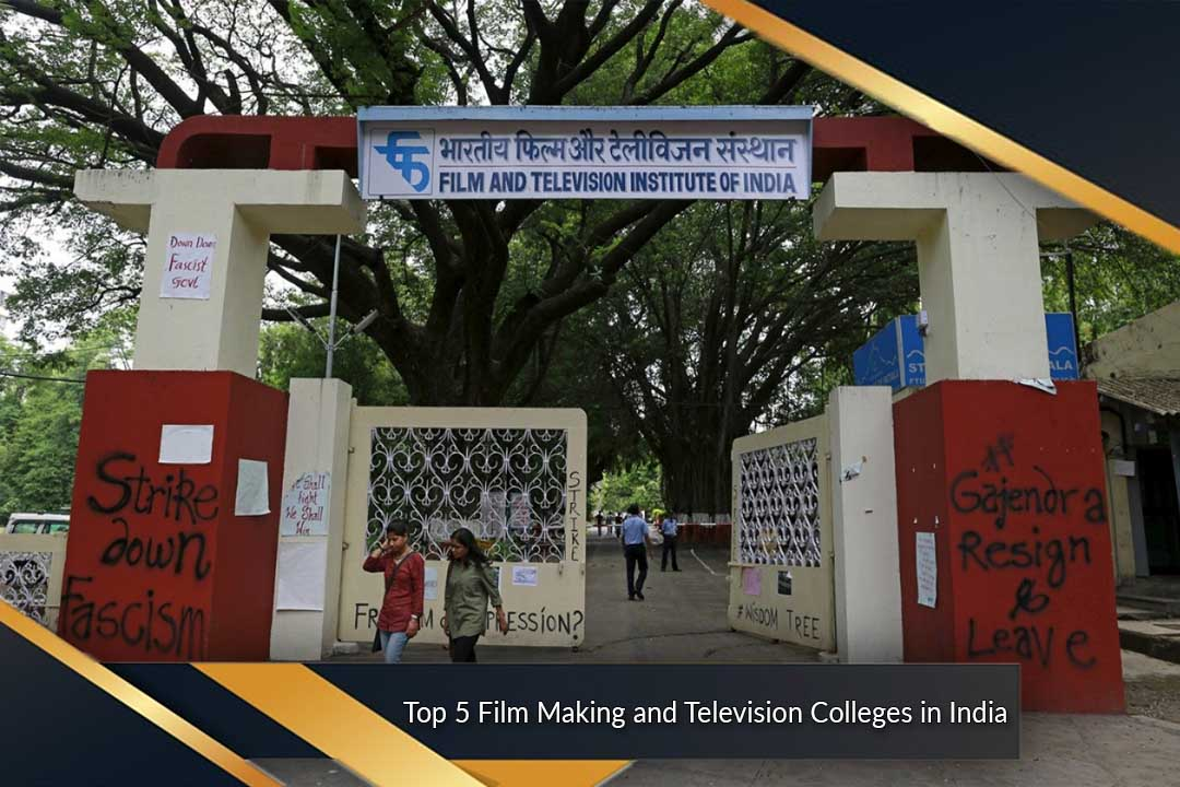 Top 5 Film Making and Television Colleges in India