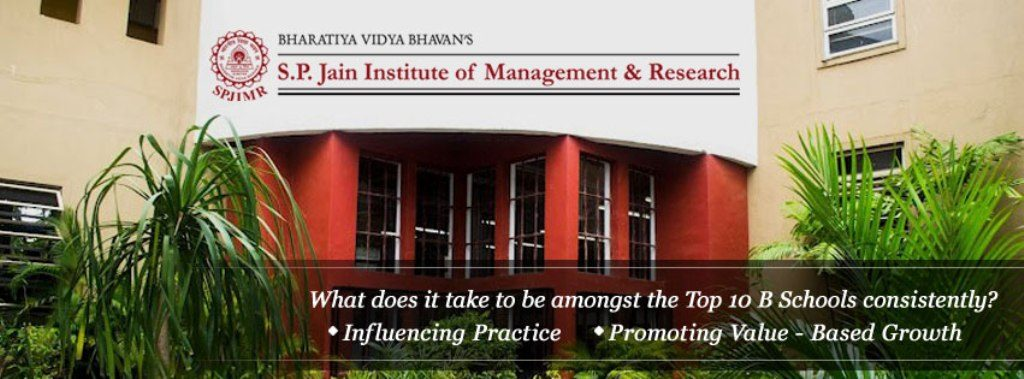 SPJIMR-S P Jain Institute of Management and Research