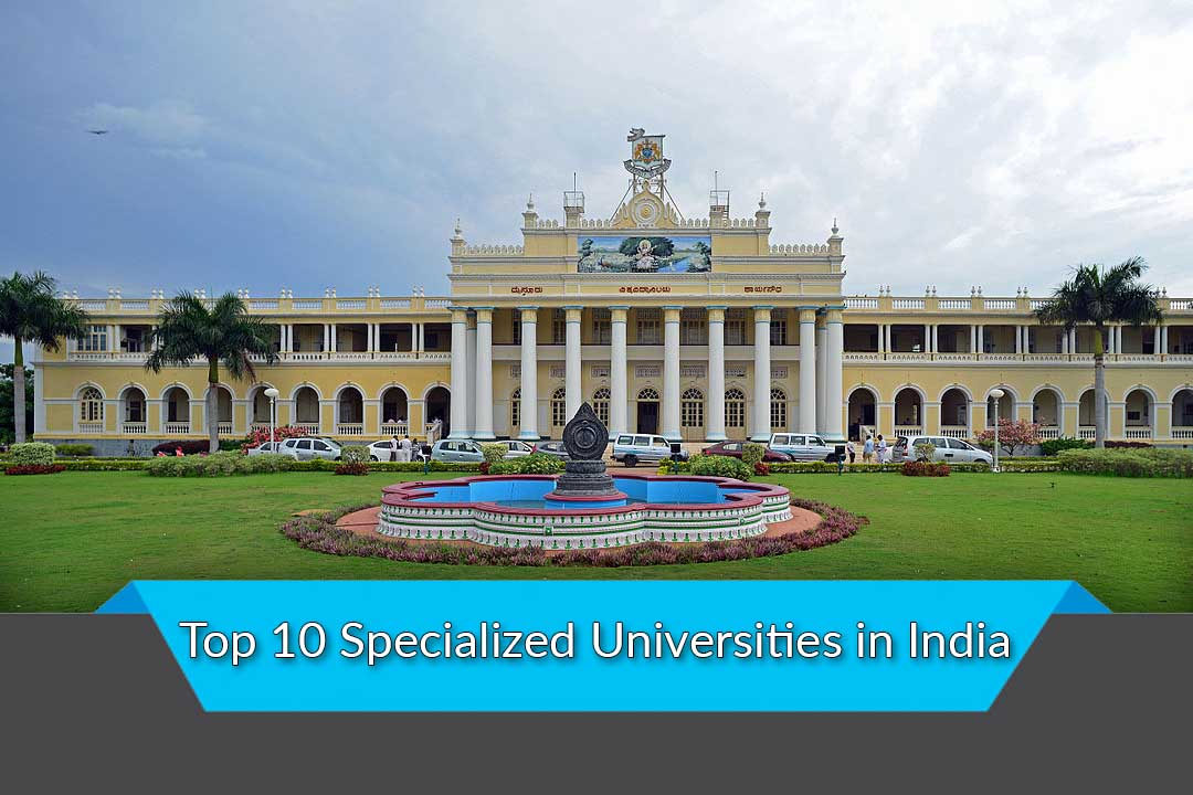 Top 10 Specialized Universities in India