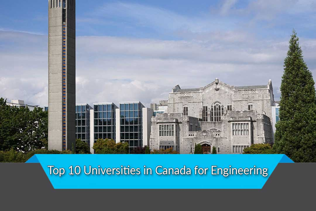 Top 10 Universities in Canada for Engineering