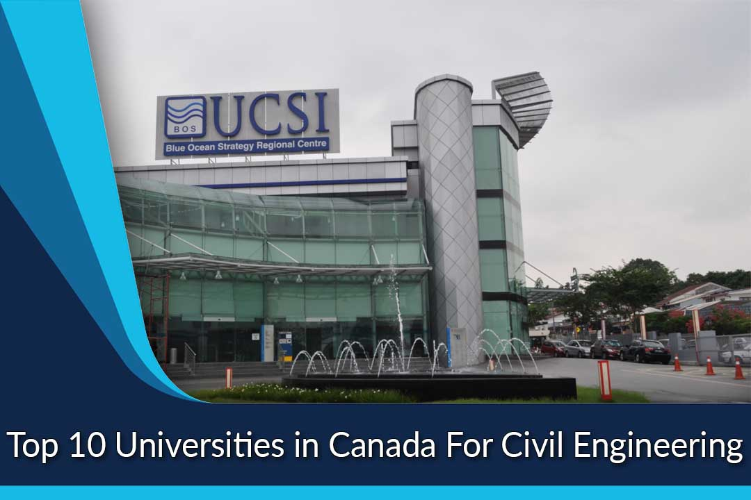Top 10 Universities in Canada For Civil Engineering