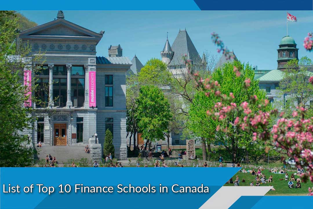 List of Top 10 Finance Schools in Canada