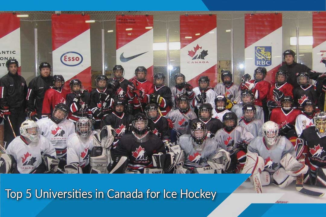 Top 5 Universities in Canada for Ice Hockey