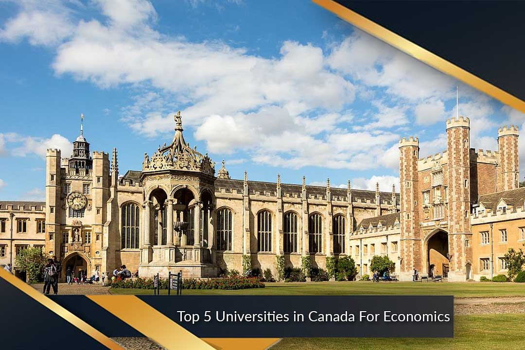 Top 5 Universities in Canada For Economics