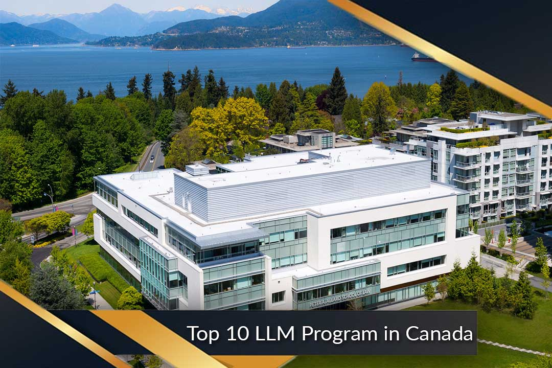 Top 10 LLM Program in Canada
