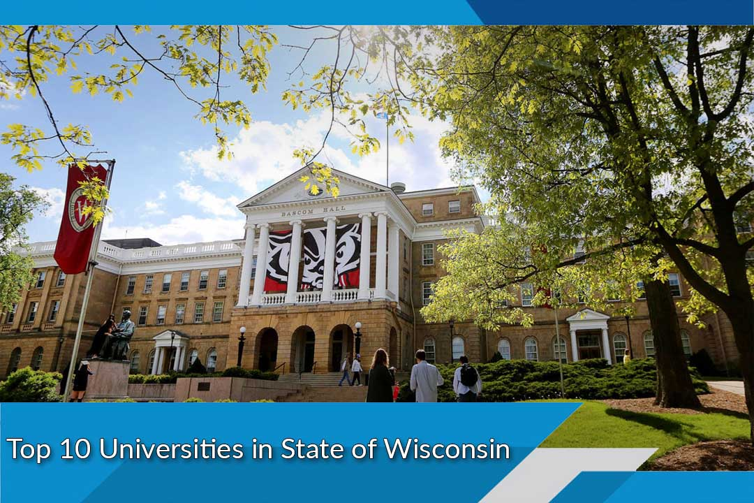 Top 10 Universities in State of Wisconsin