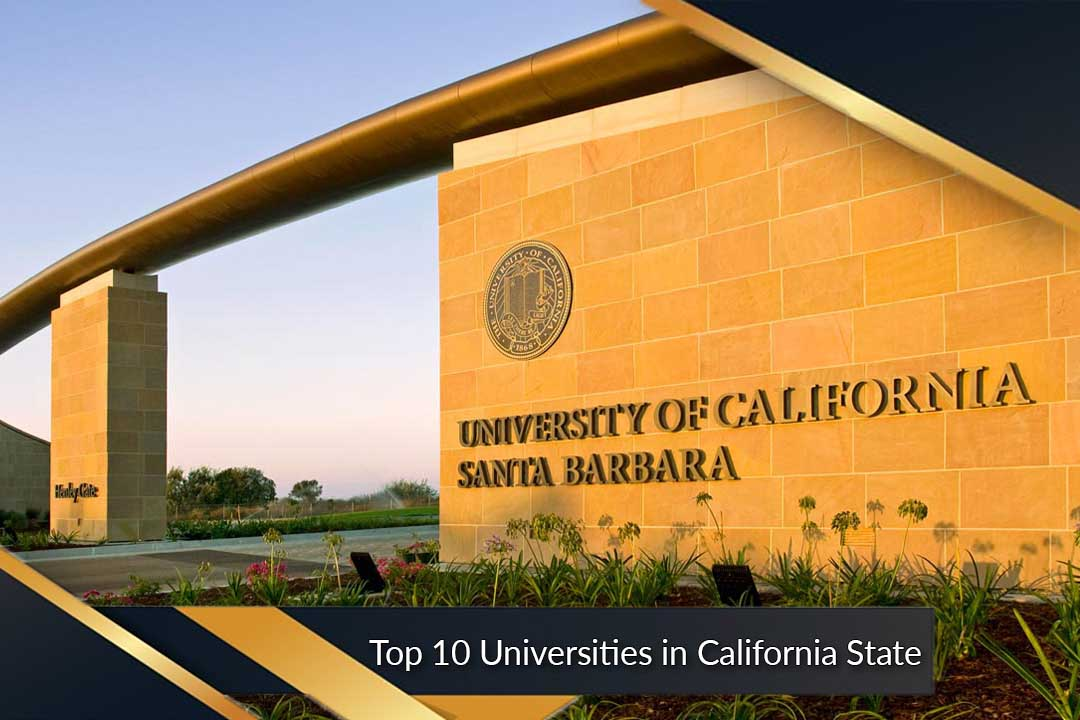 Top 10 Universities in California State
