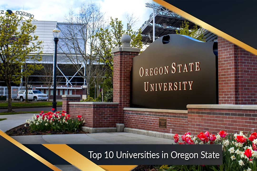 Top 10 Universities in Oregon State
