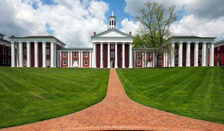 Top 10 universities in virginia state