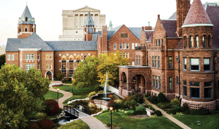 top universities in Missourii