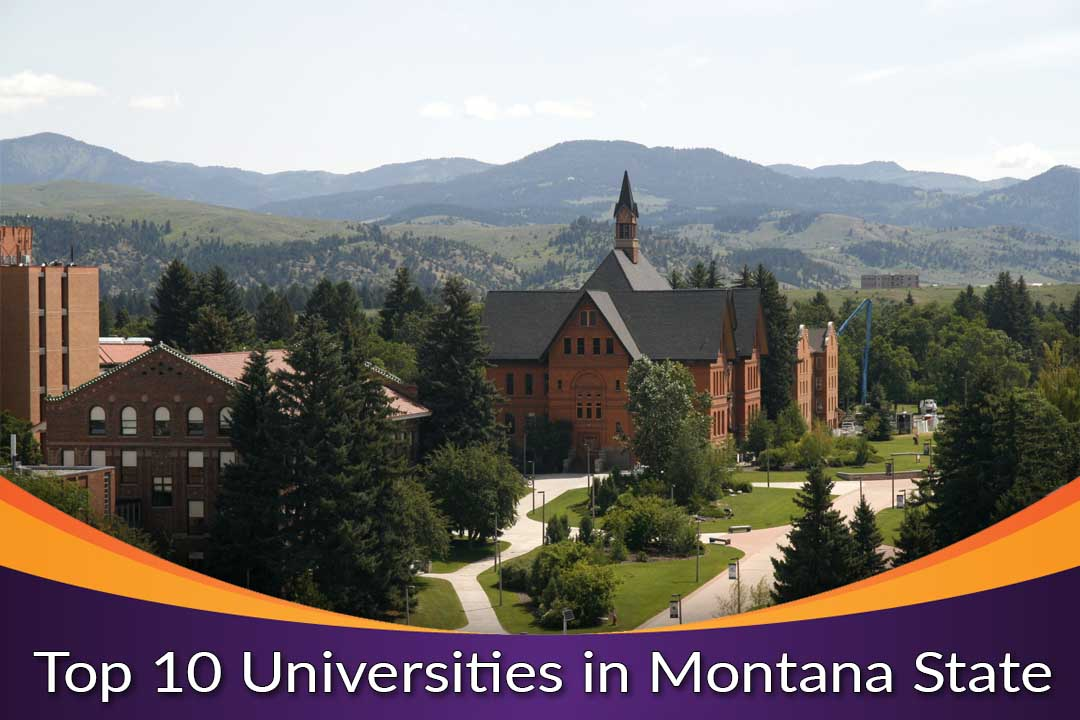 Top 10 Universities in Montana State