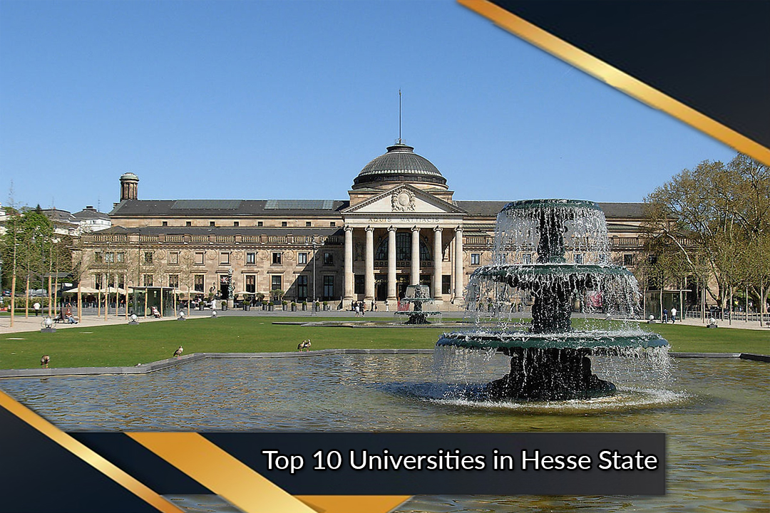 Top 10 Universities in Hesse State